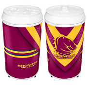 Brisbane Broncos Can Shaped Bar Fridge