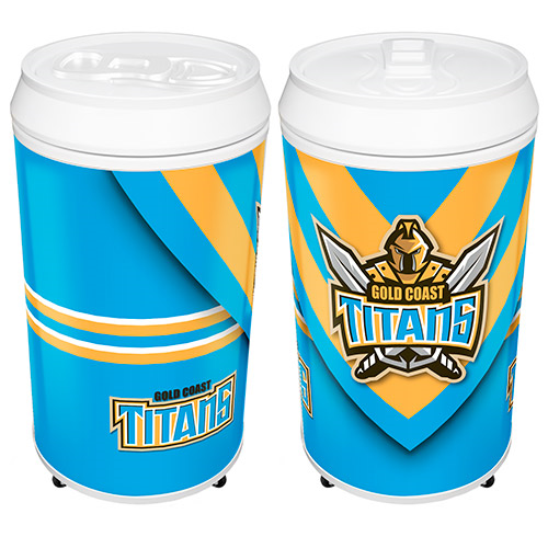 Gold Coast Titans Can Shaped Bar Fridge