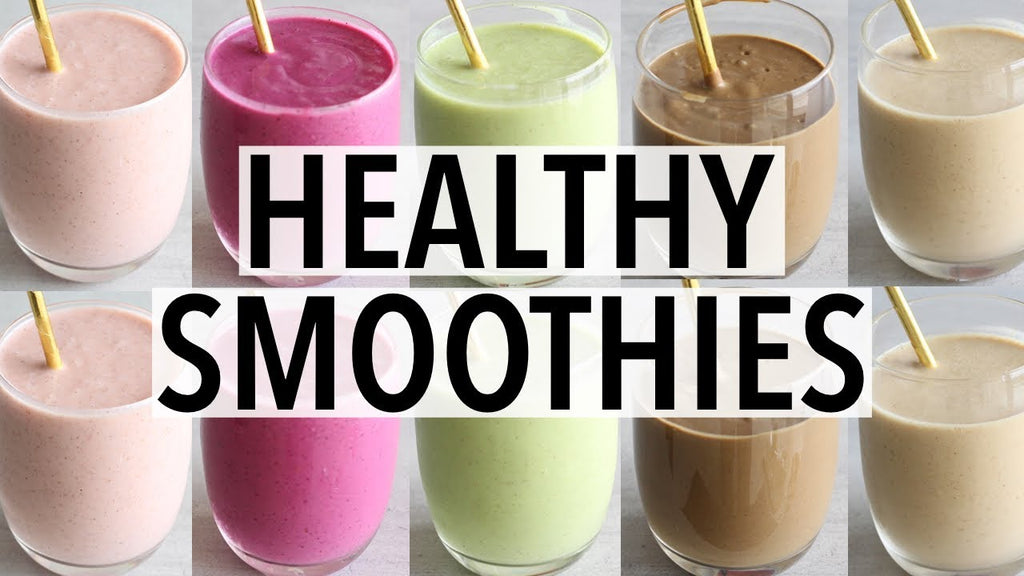 Redefine Your Breakfast! Healthy Smoothie Ideas