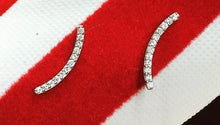 Load image into Gallery viewer, White Gold Diamond Earrings