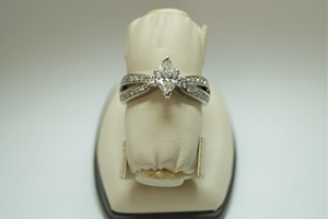 Wilcox Jewelers Exclusive Marquise Engagement Ring