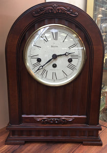 Wooden Westminster Chime Bulova Clock