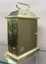 Load image into Gallery viewer, Small Brass Bulova Desk Carriage Clock