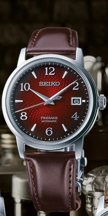 Sleek Automatic Men's Seiko Watch