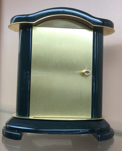 Small Wooden Bulova Desk Clock