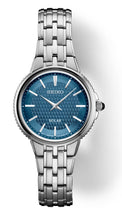 Load image into Gallery viewer, Blue and White Seiko Ladies Watch