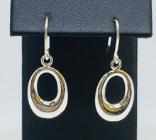 "Load image into Gallery viewer, ""O"" Dangle Earrings"