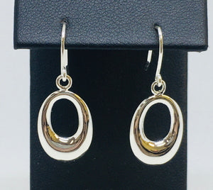 """O"" Dangle Earrings"