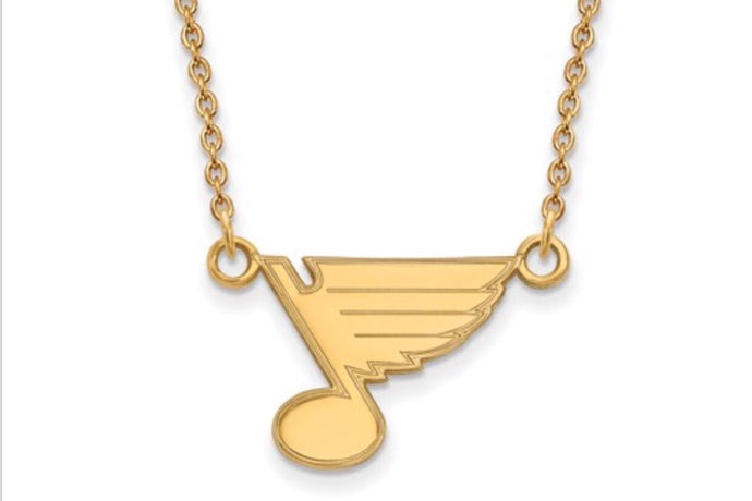 St. Louis Blues Small Emblem Necklace