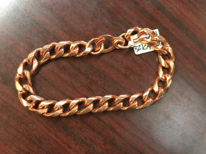 Linked Copper Bracelet