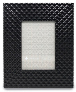 Black Diamond Patterned Picture Frame