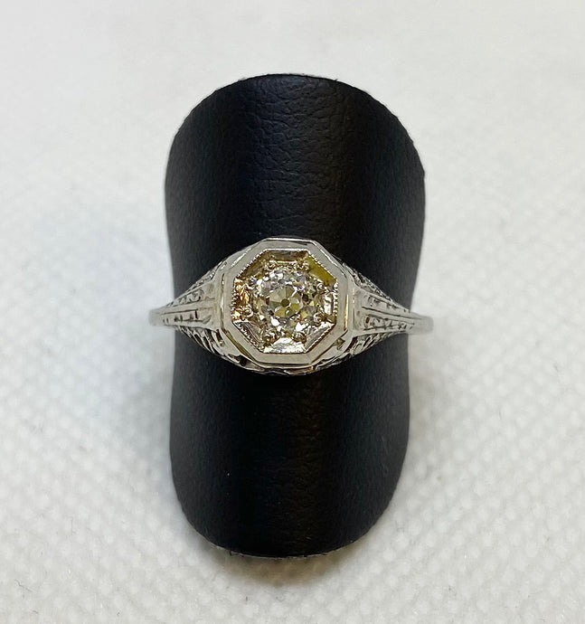 Edwardian Style Diamond Ring