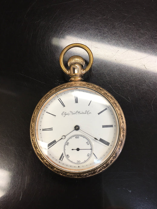 Vintage Elgin 15 Jewel Pocket Watch