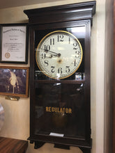Load image into Gallery viewer, Vintage Sessions Regulator Wall Clock