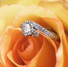 Load image into Gallery viewer, Cushion Cut Engagement Ring