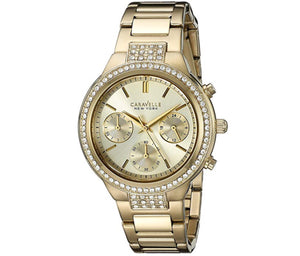 Women's All Yellow Caravelle Watch
