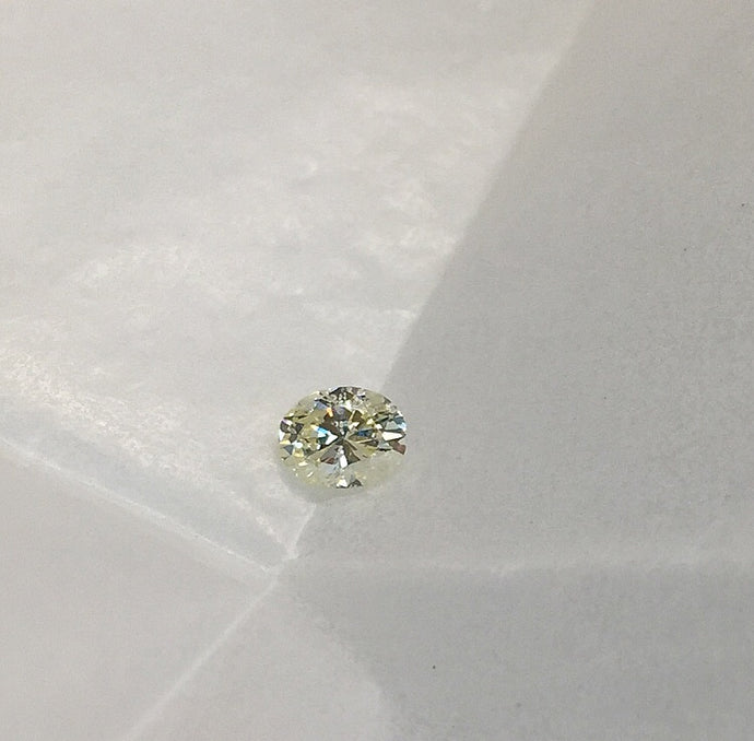 Loose Oval Brilliant Cut Diamond