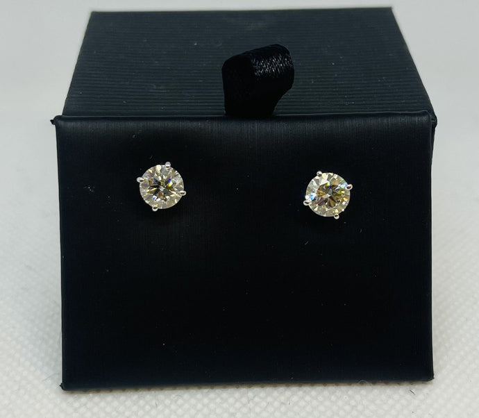 2ctw Diamond Earrings