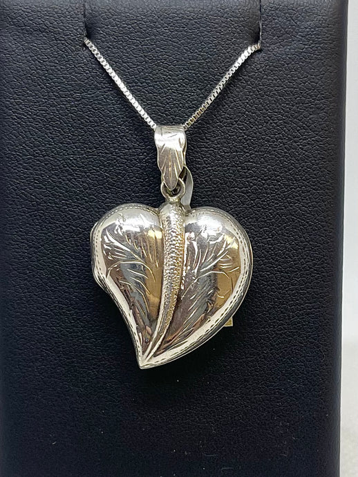 Tapered Heart Locket