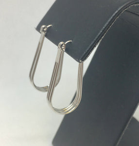 Triple Oval Hoop Earrings