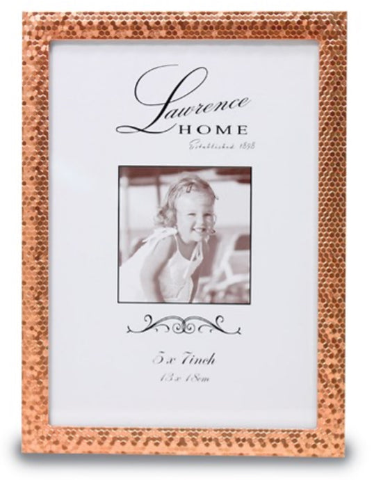 Rose Gold Shimmer Picture Frame