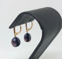 Load image into Gallery viewer, Dyed Pearl Earrings