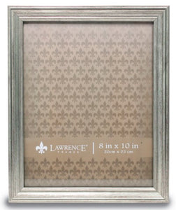Sitter Burnished Silver Picture Frame
