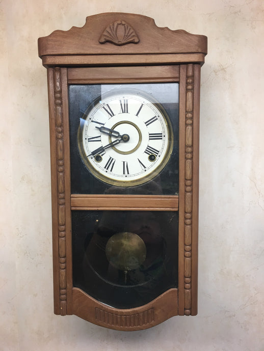 Vintage Wooden Wall Clock