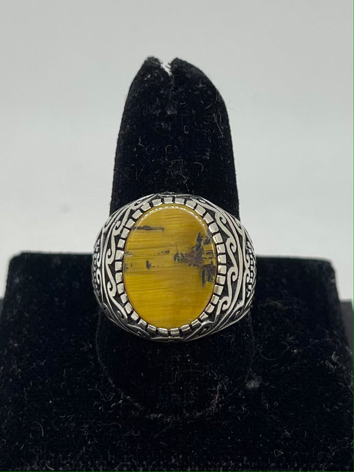 Men's Tiger Eye Ring
