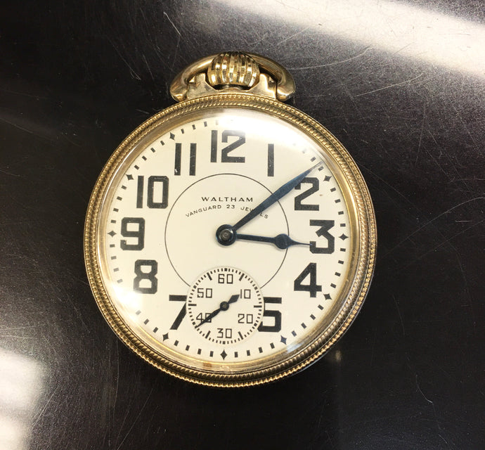 Vintage Waltham 23 Jewel Pocket Watch