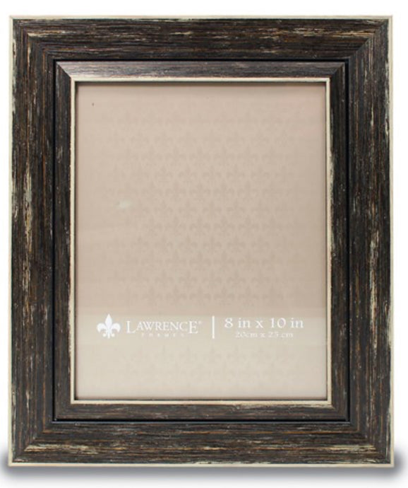 Weathered Black Photo Frame