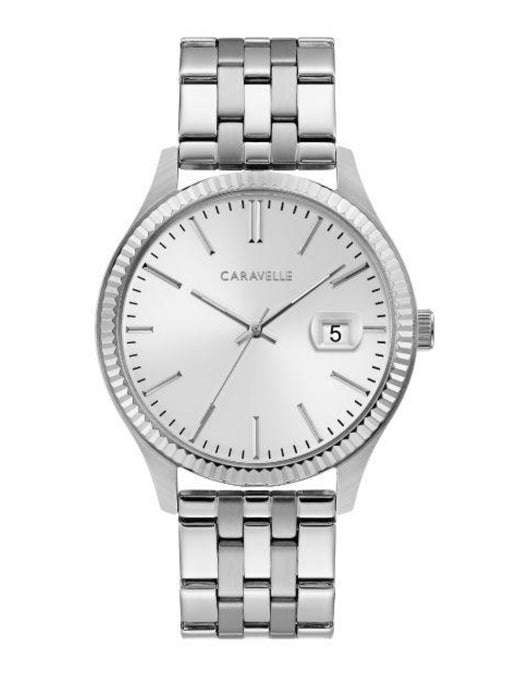 Men's All White Caravelle Watch
