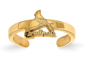St. Louis Cardinals Toe Ring