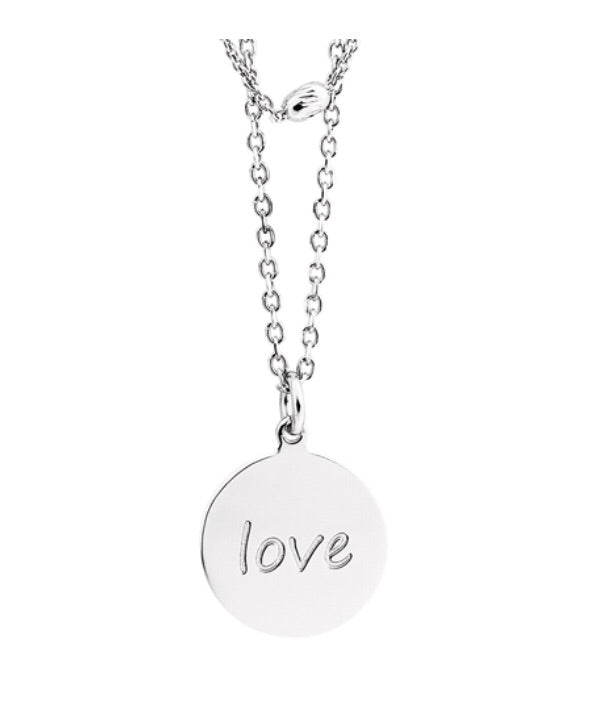 Two Strand Love Necklace