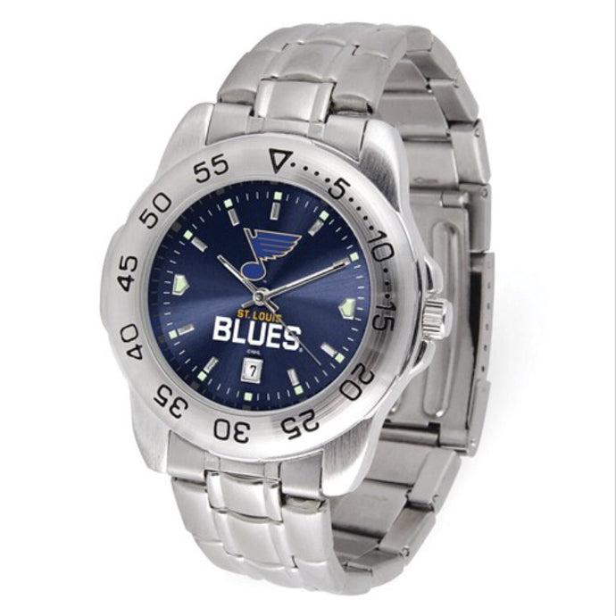 St. Louis Blues Stainless Steel Men's Watch