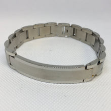 Load image into Gallery viewer, Men's Stainless Steel Ident Bracelet