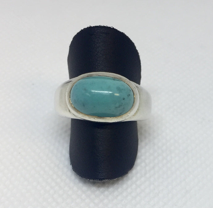 Oval Turquoise Fashion Ring