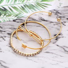 Load image into Gallery viewer, 3 Piece Arrow Bracelet Set