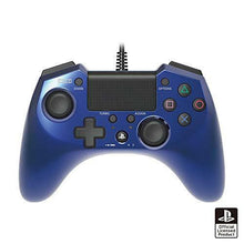 Load image into Gallery viewer, Hori Pad FPS Plus for PS4 PS3 Blue Turbo Rapid Fire Wired Controller Gamepad f
