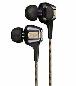 JVC HA-FXT200LTD Hi-SPEED Twin System In-Ear Headphones Black & Gold NEW JAPAN