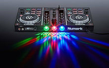Load image into Gallery viewer, Numark 2 deck with mirror ball DJ controller Virtual DJ LE included Party Mix
