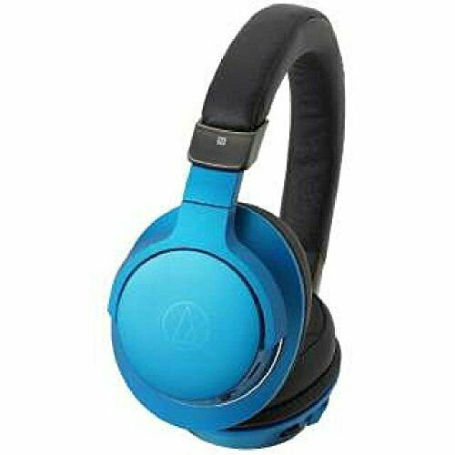 Audio Technica Sound Reality ATH-AR5BLT BL Turquoise Blue Headphone Japan NEW