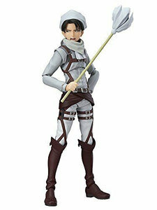 NEW figma EX-020 Attack on Titan Levi Cleaning ver. Max Factory F/S