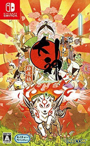 Nintendo Switch Okami Zekkeiban import Limited edition in stock Japan Import f/s