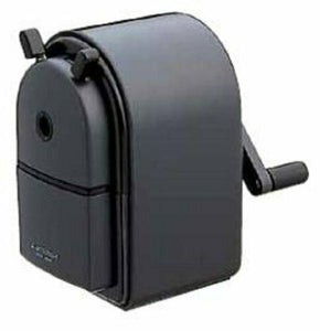 MITSUBISHI pencil sharpener Uni manual sharpener black KH20.24 w/Tracking# JAPAN