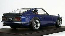 Load image into Gallery viewer, Ignition Model 1/12 Nissan Fairlady Z S30 Blue Limited Completed