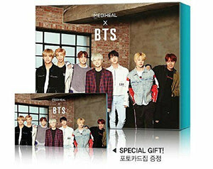 MEDIHEAL BTS 4SET Ver of Special Set Mask Sheets 40ea + Photocard 56ea KPOP