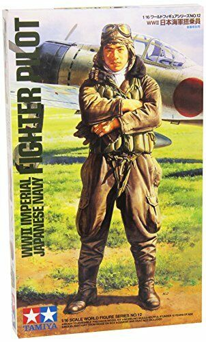 TAMIYA 1/16 WWII Imeperial Japanese Navy Fighter Pilot Model Kit NEW from Japan