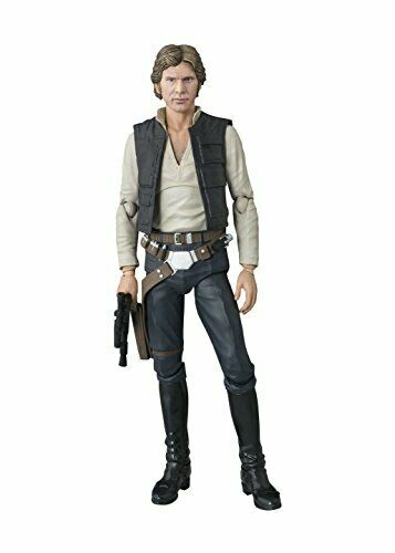 S.H.Figuarts Star Wars Ep4 A New Hope HAN SOLO Action Figure BANDAI f/s from JP