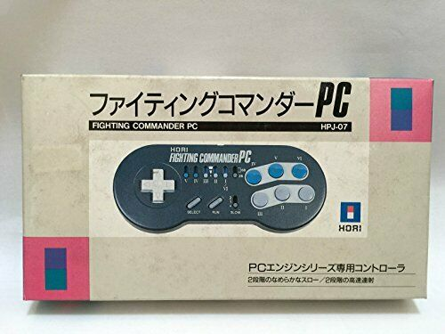 Hori NEC PC Engine Fighting Commander PC Controller Box From Japan